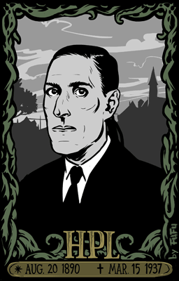 Hoy celebramos el 125 aniversario de #Lovecraft. Su innovación en la literatura influyó en todas las Bellas Artes http://t.co/BN9ttTFSxD