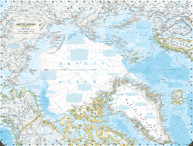 Arctic sea ice has melted so much, @NatGeo had to redraw its atlas http://t.co/iIgQoZssyd http://t.co/rjmS2AdWxf