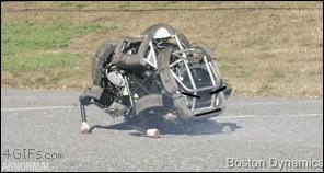 この四足歩行ロボットに表情つけるのずるい http://t.co/xyCAG9AlHd