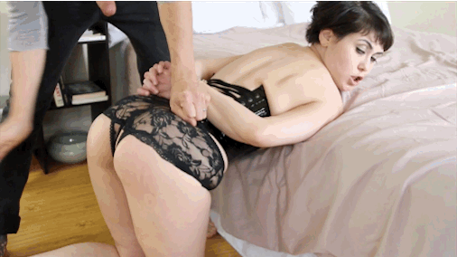image Bondage and rough sex with becca