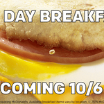 @stylzandroman We realized our breakfast had never seen a sunset, so we had to change that. #AllDayBreakfast. 10/6. http://t.co/XZNSz2FoUO