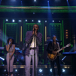 Up now: @VinceStaples performs with @JheneAiko and @TheRoots! #FallonTonight http://t.co/UntxlAPQQF