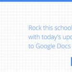 Save time, work together & create your best work this school year with @googledocs! http://t.co/eqV7Agczpy #GoogleEdu http://t.co/LDgr01eDjE