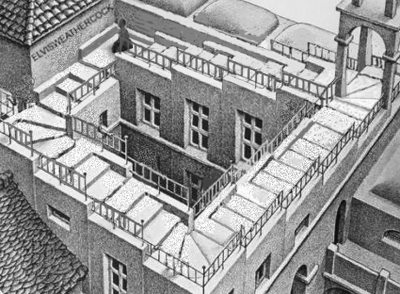 A spectacular misuse of Penroses / Escher's staircase https://t.co/2Fudqtounk http://t.co/XSW87hMjG0