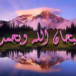 """قال رسول الله ﷺ : """"من قال سبحان الله وبحمده ، في يوم مائة مرة ، حطت خطاياه وإن كانت مثل زبد البحر"""" متفق عليه http://t.co/H8o6tsZ9k5"""