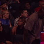"""Kanye West dancing to """"Cant Feel My Face"""" by The Weeknd #VMAs http://t.co/tD3jLz3O5x"""