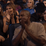 We see you smilin over there, @kanyewest. #VMAs #VMAs2015 http://t.co/5IEqYdOfZx