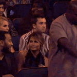 Kanye enters his zone during The Weeknds #VMAs performance http://t.co/w7oRAvfn6V http://t.co/mLqEU6qz8r
