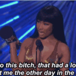 Nicki Minaj just called Miley Cyrus out at the #VMAs http://t.co/oCFYoL5PDf http://t.co/Pao2l4hTy1