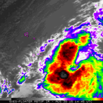 Hurricane #Fred farthest E. hurricane to develop in E Atlantic. 1st time Hurricane Warnings issued for Cape Verde Is. http://t.co/ydM6D62TVx