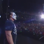 The 1,162nd edition of @WWE #RAW is LIVE NOW on @USA_Network! And here comes @Sting!! #TheVigilante http://t.co/Kk88v5omLE