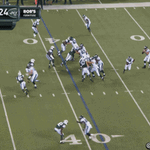 Tim Tebow dropping 45-yard dimes! http://t.co/7zRfqnuqez