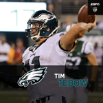 Besides a 4th down Int, Tim Tebow impresses in his final audition to make the Eagles roster. http://t.co/yBBgf2WvMq