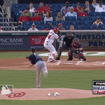 .@Bharper3407 saw 20 pitches tonight, didnt swing the bat once: http://t.co/VdYq6DN7h7 http://t.co/xTsmiEv2hj