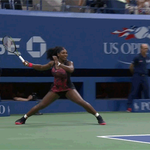 ???? RT @cjzero GIF: Serena Williams does the splits, still won the point http://t.co/yK2ERzXRQZ