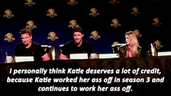 Lovely words from @amellywood about @MzKatieCassidy. Thank you for being awesome! http://t.co/GlCeGSX6a8