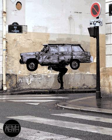 GoodGood RT @Brindille_: #Streetart #urbanart #GIF #animation de ABVH http://t.co/B03r1aa17k