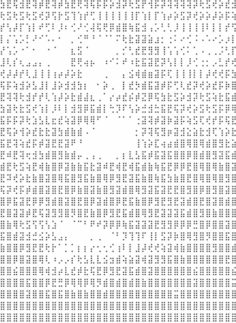 Releasing http://t.co/pQj6YhK4R8 at @FrontTalks – An ever changing painting using Braille characters in ~500 bytes. http://t.co/vmYU4ADuVV