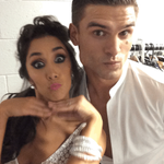Its almost time to go to the movies! @jmanrara @AljazSkorjanec ????????????#Strictly http://t.co/mIpC0qVwnO