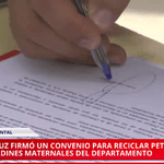 """@senalutv: #PanoramaU @TadeoGZ firmó convenio para #reciclaje en #GodoyCruz http://t.co/rVkf00lsbO http://t.co/xx9EgQMgXx"" @arayitav"