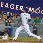 Two-out double for Corey Seager! #LetsGoDodgers #SeagerSmooth http://t.co/BCaPF0XOGB