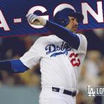 .@AdrianTitan23 singles in Howie Kendrick!! #Dodgers cut the Mets lead to 3-1. #LetsGoDodgers!! http://t.co/axVXGibCOT