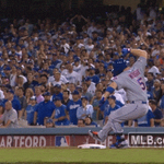 Bases loaded, two outs? David Wright knew exactly what to do. http://t.co/Hohupg4V7N #OwnOctober http://t.co/9rCjmForDs