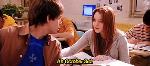 On October 3rd, he asked me what day it was. http://t.co/M5sKbApIwX