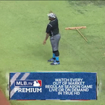 The #BlueJays have the worlds fastest grounds crew, but the #Rays guys have the moves http://t.co/VEp43XWtut http://t.co/Y7hZ0zx85j
