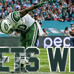 The Jets take a bow in London and defeat the Dolphins 27-14. NYJ now 3-1 on the early season. http://t.co/aSlaYUBTz2