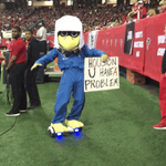 Meanwhile, on the other side of the field... #HOUvsATL http://t.co/dzVJj6dvGj