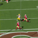 Richard Rodgers gets open for the #touchdown. #GBvsSF http://t.co/BCtZv3nuYn