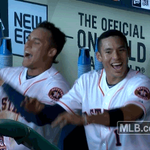 When you realize its officially Tuesday in Houston and the #Astros are in the #WildCard game tonight. #HustleTown http://t.co/fENES0FQju