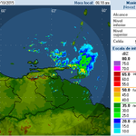 via @Meteovargas: AVISO: Avanzan fuertes lluvias al NE de Sucre. Otras en Nva.Esparta, Delta. Aisladas en Monagas http://t.co/sgXx2pazFW
