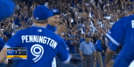 JAYS WIN 6-3, ADVANCE TO ALCS. http://t.co/9rAEpfXhRL