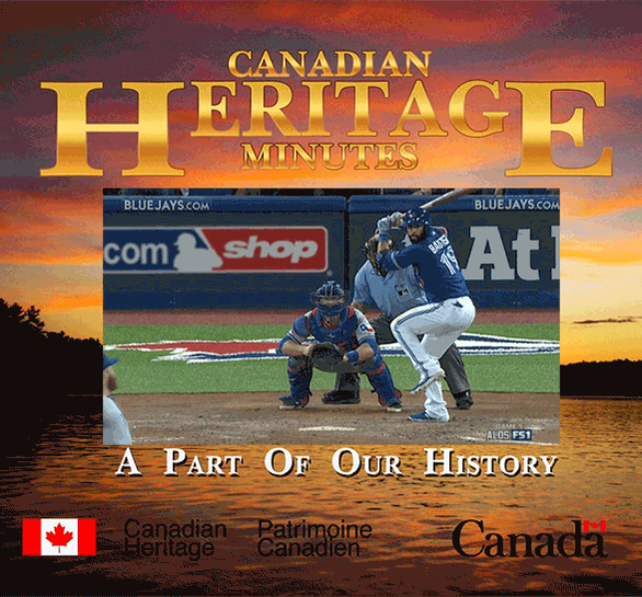 #ComeTogether #HeritageMinutes @JoeyBats19 @BlueJays http://t.co/Ct9qxtNEG0