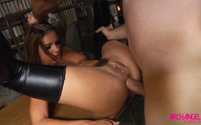 A hot #analsex gif from today's update featuring @adrianachechik from the #AdrianasASlut DVD http://t