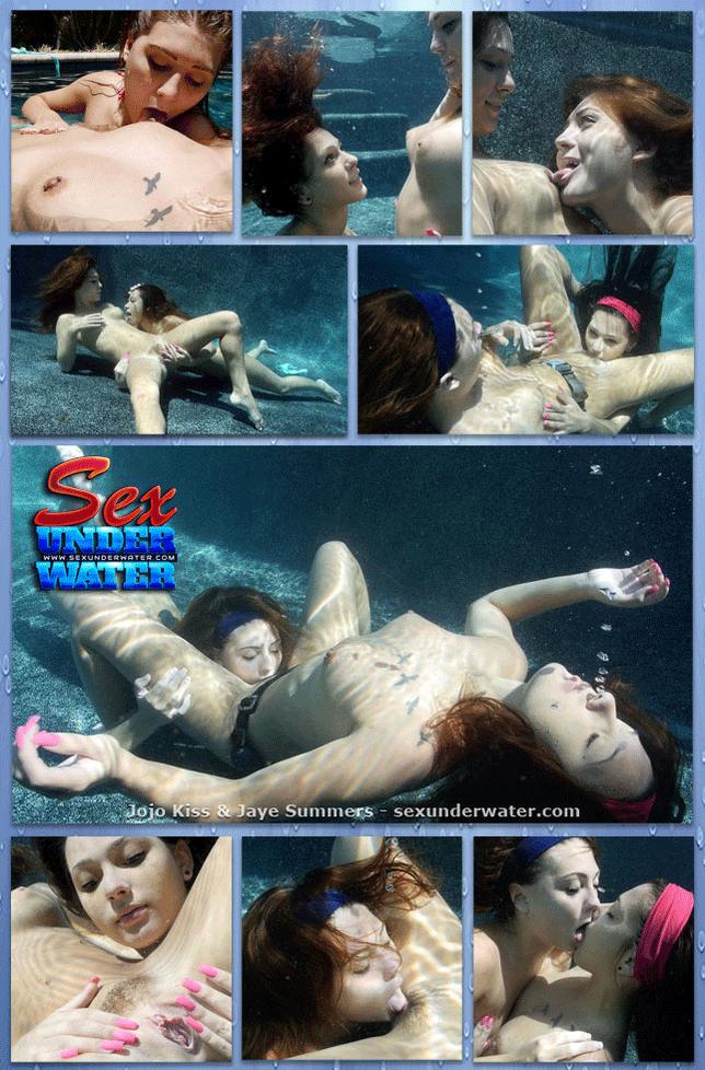 RT : #sexunderwater Jojo Kiss and Jaye Summers - Hot GG Underwater