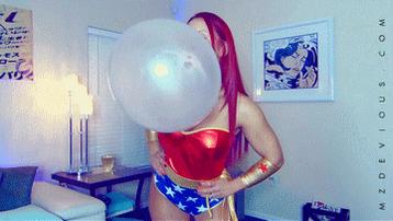 Wonder Woman - Wonder Bubbles #bubblegum clip m3VNRZG33O at #clips4sale e