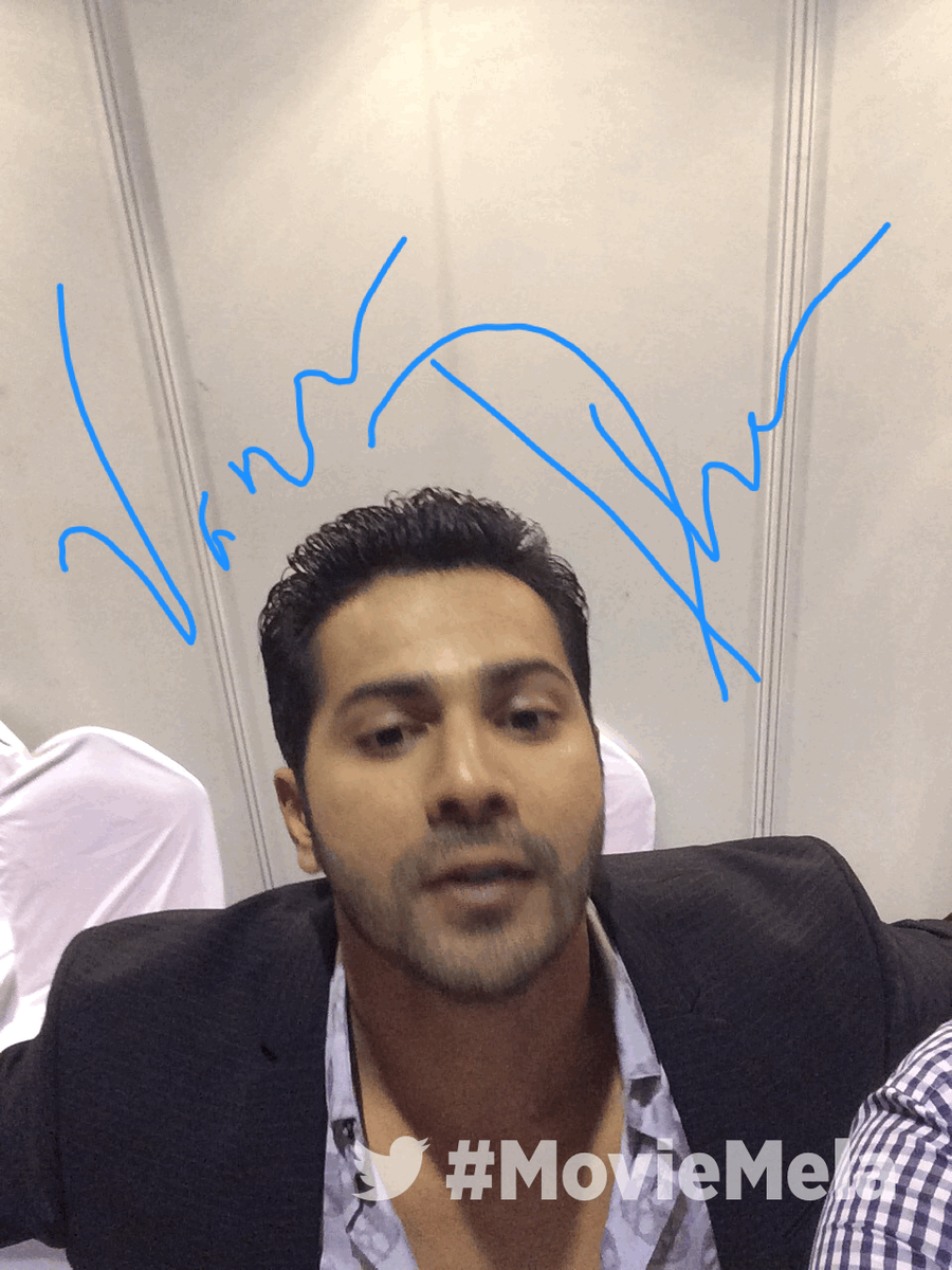 At the #MovieMela #JioMAMIwithStar   @varun_dvn https://t.co/TryexKJe4x