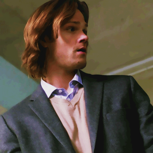 Jared padalecki hair flip gif