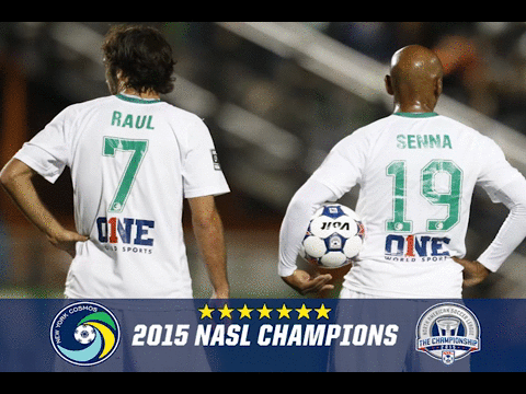 We are the 2015 @naslofficial CHAMPIONS.