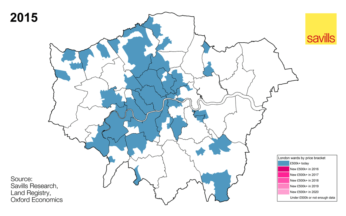 See where average London house prices will grow to £500k+ between 2015 and 2020. New report: https://t.co/QVUqH1loYv https://t.co/OMh7FcNnUU