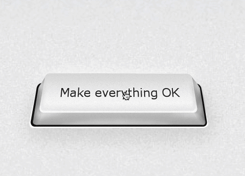 PRESS to make everything OK … hehe :) https://t.co/JPm68WoRuZ