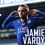 JAMIE VARDY SCORES! Hes scored in 11 consecutive Premier League games! https://t.co/sS0ulqzj1t