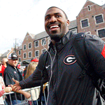 Check out the photo gallery from todays 13-7 win over Tech! #UGAvsGT >> https://t.co/zXxE3sHnDc https://t.co/9nzVLPIzjf