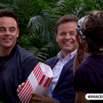 We think the popcorn was well earnt #ImACeleb https://t.co/VwPW1RrAzi