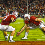 Cardinal holds on! No. 9 Stanford drills the 45-yd FG as time expires to defeat No. 6 Notre Dame, 38-36. https://t.co/8MhpeLD6ud