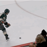 Pominville with a solid #CannonBlast by @CaptainMorganUS for his first goal! #mnwild https://t.co/T7Ccm7b1rE