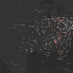 This is what #Thanksgiving will look like, according to @Google #flights data #dataviz https://t.co/f1LGgpHiGa https://t.co/9R6YTnQxxq